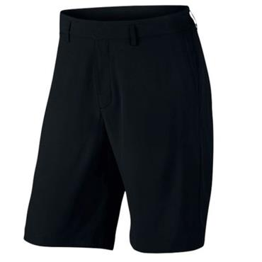 Nike Gents Flat Front Woven Shorts Black