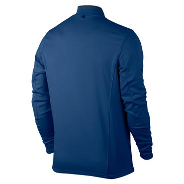 Nike Gents Dri-Fit 1/2 Zip Long Sleeve Top Blue (433)