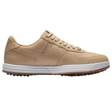 Nike Gents Lunar Force 1 G Premium Golf Shoes Platinum