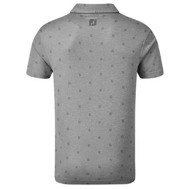 FootJoy Gents Smooth Pique Tonal Shirt Coal