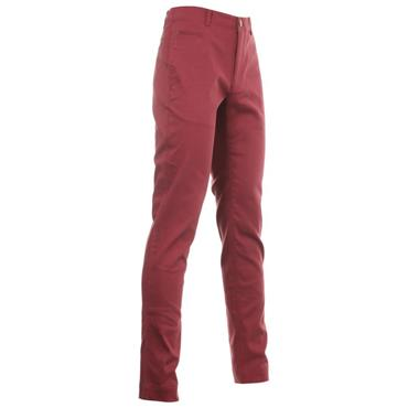 FootJoy Gents Tapered Fit Chino Trousers Maroon