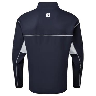 FootJoy Gents Full Zip Windshirt Navy - White
