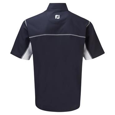 FootJoy Gents ½ Zip Short Sleeve Windshirt Navy