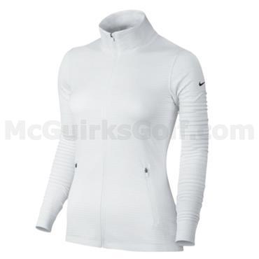 Nike Ladies Dry Full Zip Jacket White