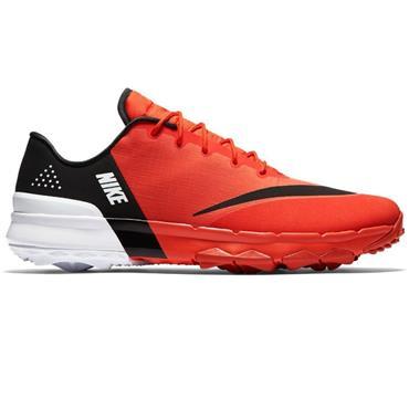 Nike Gents Fi Flex Shoes Orange - Black