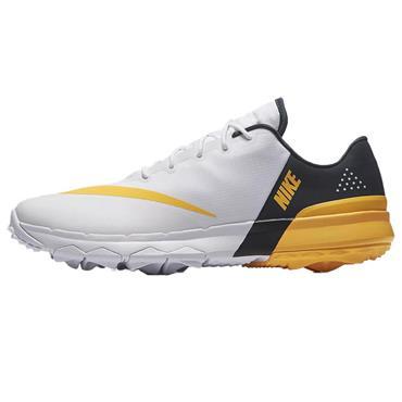 Nike Gents Fi Flex Shoes White - Orange