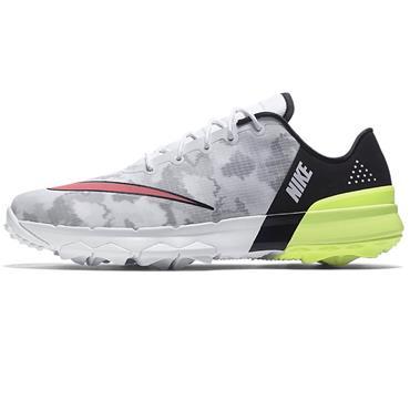 Nike Gents Fi Flex Shoes White - Pink - Black
