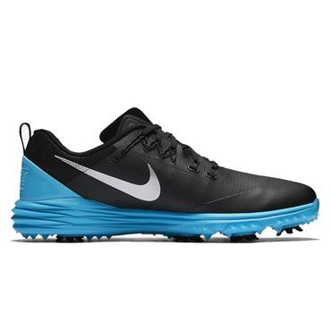 Nike Gents Lunar Command 2 Golf Shoes Black - Blue