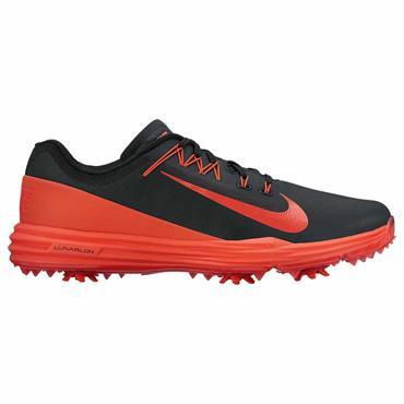 Nike Gents Lunar Command 2 Golf Shoes Black - Orange