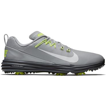 Nike Gents Lunar Command 2 Golf Shoes Grey - Yellow