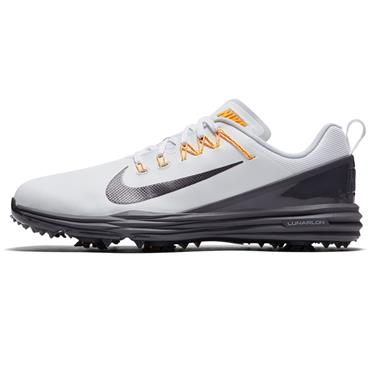 reputable site 7ac5f 45588 ... Nike Gents Lunar Command 2 Golf Shoes White - Grey