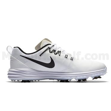 Nike Gents Lunar Command 2 Golf Shoes Wide Fit White