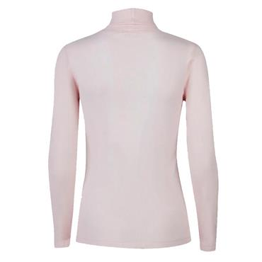 Daily Sports Ladies Maggie Long Sleeve Roll Neck Parf Pink