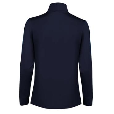 Daily Sports Ladies Anna Half-Zip Long Sleeve Pullover Navy