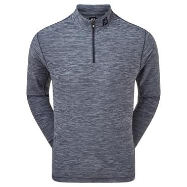 FootJoy Gents Space Dye Brushed Back Chill-Out Pullover Navy