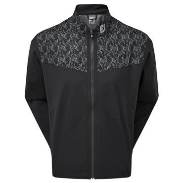 FootJoy Gents HydroLite Jacket Black - Marble Print