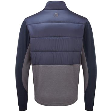 FootJoy Gents Hybrid Insulated Jacket Navy - Charcoal
