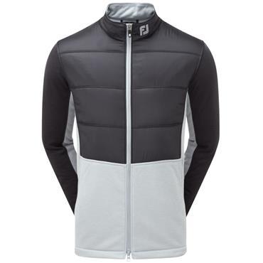 FootJoy Gents Hybrid Insulated Jacket Black - Grey