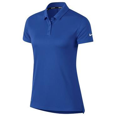 Nike Ladies Dri-Fit Polo Shirt Royal