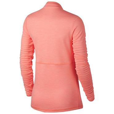Nike Ladies Dry Half-Zip Golf Top Pink