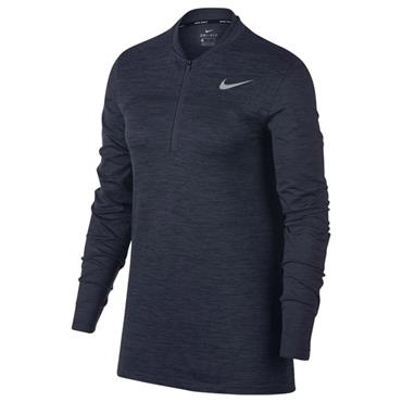 Nike Ladies Dry Half-Zip Golf Top Black