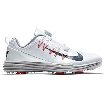 Nike Gents Lunar Command 2 Boa Shoes White - Red