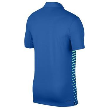 Nike Gents Dri Fit Standard Fit Polo Shirt Blue