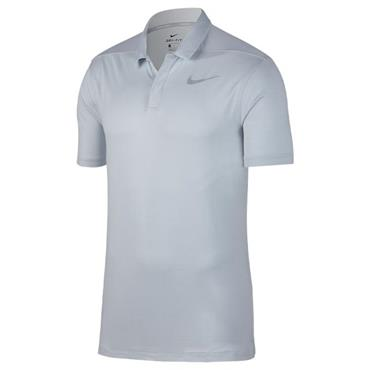 Nike Gents Dri Fit Polo Shirt Platinum