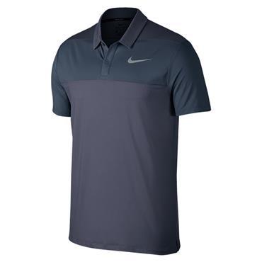 Nike Gents Dry Colour Block Polo Shirt Carbon