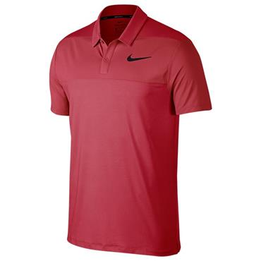 Nike Gents Dry Colour Block Polo Shirt Pink