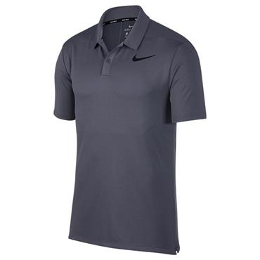 Nike Gents Breathe Polo Shirt Carbon