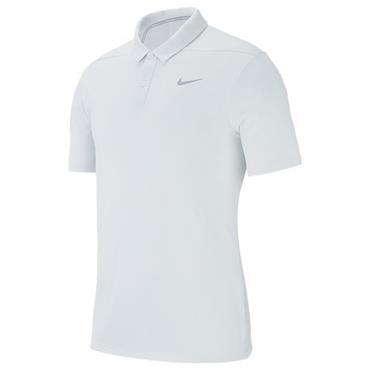 Nike Gents Breathe Polo Shirt White