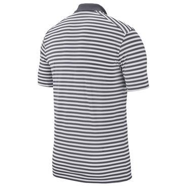 Nike Gents Dry Victory Stripe Polo Shirt Grey