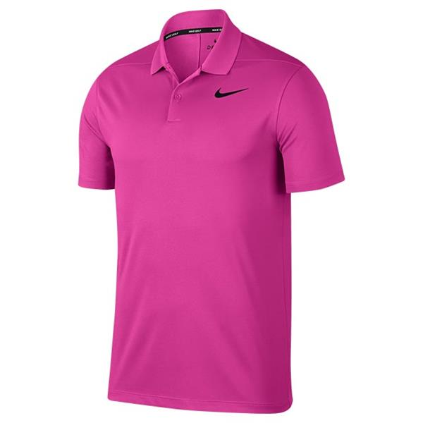 1740a771 Nike Gents Dri-Fit Victory Polo Shirt Magenta | Golf Store