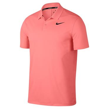 Nike Gents Dri-Fit Victory Polo Shirt Sunset
