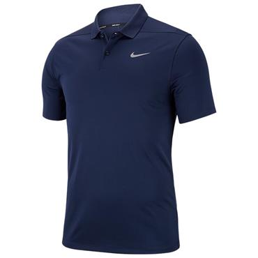 Nike Gents Dri-Fit Victory Left Chest Polo Shirt Navy