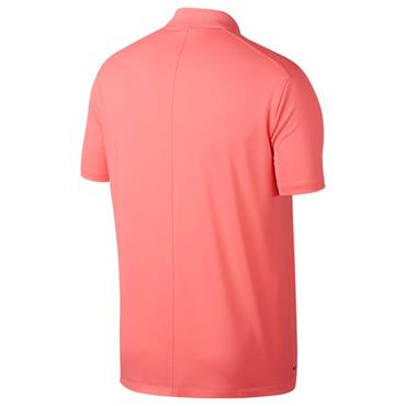 Nike Gents Dri-Fit Victory Left Chest Polo Shirt Sunset