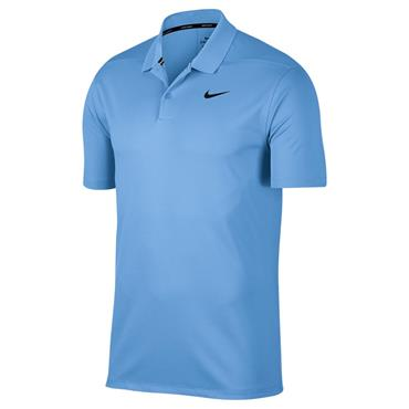 Nike Gents Dri-Fit Victory Solid Polo Shirt Blue