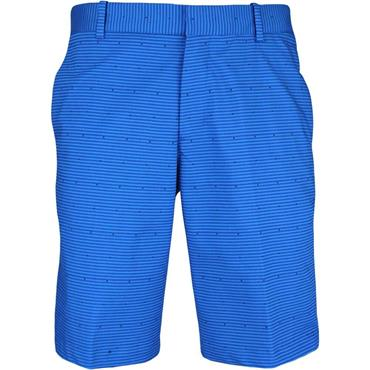 Nike Gents Flex Slim Print Shorts Blue