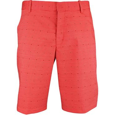 Nike Gents Flex Slim Print Shorts Coral