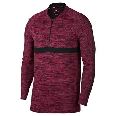 Nike Gents Dri-Fit 1/2 Zip Top Pink