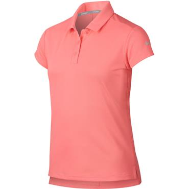 Nike Junior - Girls Dry-Fit Victory Polo Shirt Sunset