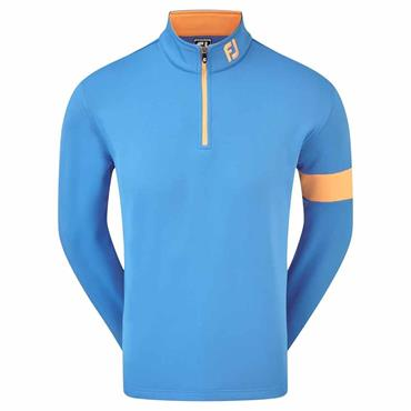 FootJoy Gents Chillout Xtreme Fleece Pullover Marine - Orange