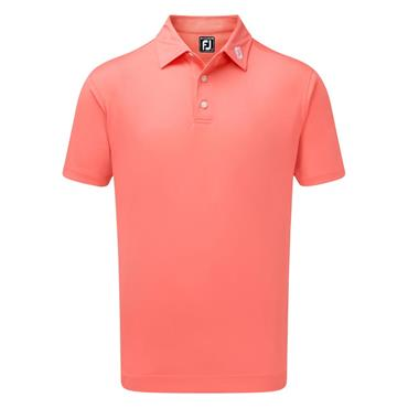 FootJoy Gents Stretch Pique Solid Polo Shirt Watermelon