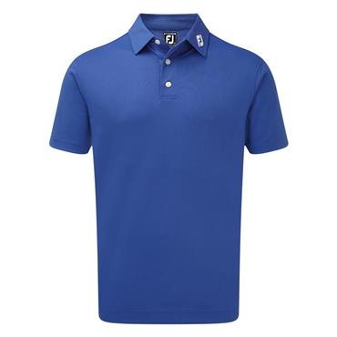 FootJoy Gents Stretch Pique Solid Polo Shirt Blue