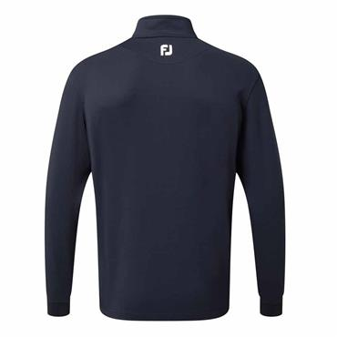 FootJoy Gents Jersey Chest Stripe Chill-out Pullover Sky - White