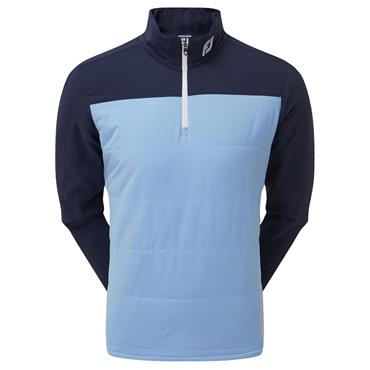 FootJoy Gents Thermal Mid-Layer Navy - Sky