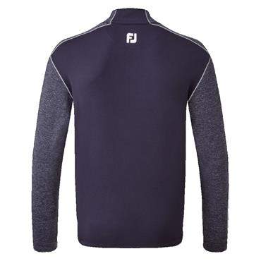 FootJoy Gents Tonal Heather Chill Out Top Navy