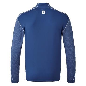 FootJoy Gents Tonal Heather Chill Out Top Deep Blue