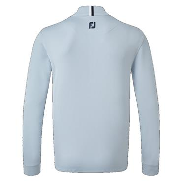 FootJoy Gents Essential Chill Out Top Blue Fog - White Navy